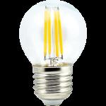 Светодиодная филаментная (нитевидная) лампа Е27 6Вт Premium