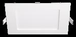 Ультратонкий светодиодный светильник Квадрат 6Вт