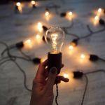 """Лампа накаливания прозрачная """"Груша"""" 40Вт Е27"""