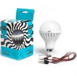 Низковольтная светодиодная лампа 12Вольт 12Вт с подвесом