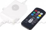 Влагозащищенный контроллер с ДПУ для гирлянды-нить RGB