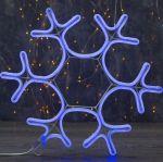 """Светодиодная фигура из неона """"Снежинка"""" 0,4х0,4м"""