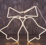 """Светодиодная фигура из неона """"Колокольчики"""" 0,6х0,5м"""