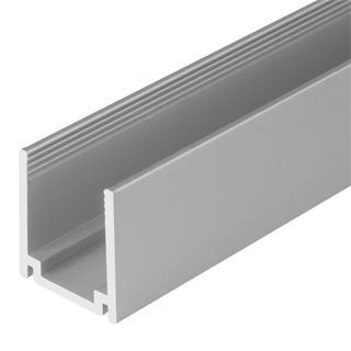 Алюминиевый профиль 1м для неона 26х15мм Premium
