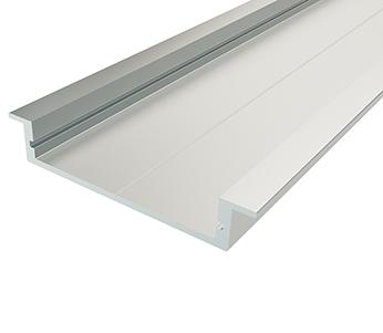 Алюминиевый встраиваемый профиль ширина 40мм