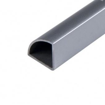 Трубка-профиль для скрытой проводки в витрине