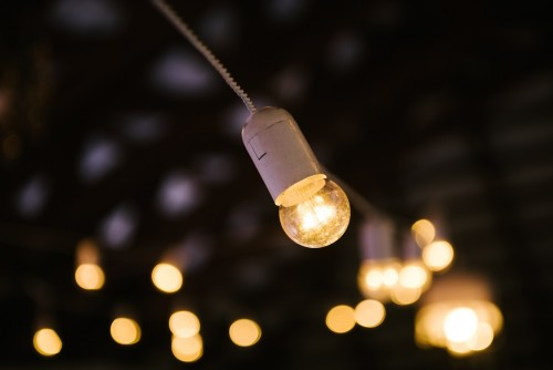 Ретро гирлянда для помещения 20м (с led лампами)