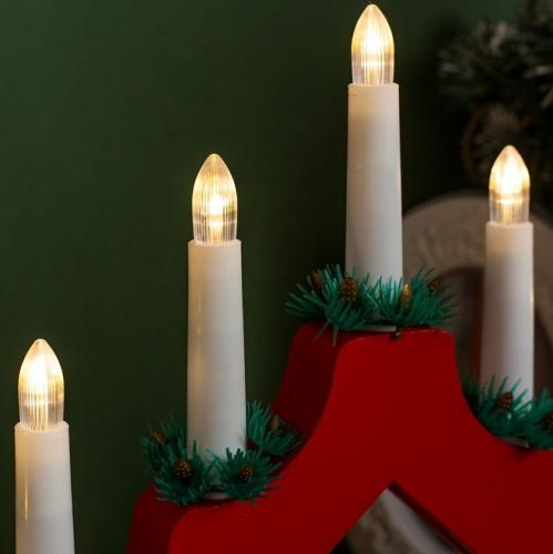 """Фигура """"Рождественская горка"""" 7 свечей"""
