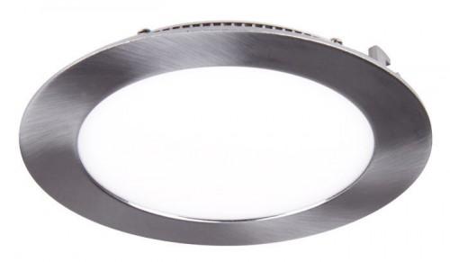 Ультратонкая светодиодная круглая панель 8Вт (алюм. корпус)