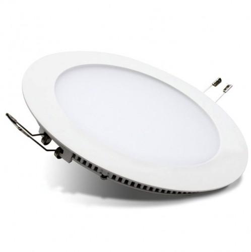 Ультратонкий светодиодный светильник Круг 24Вт