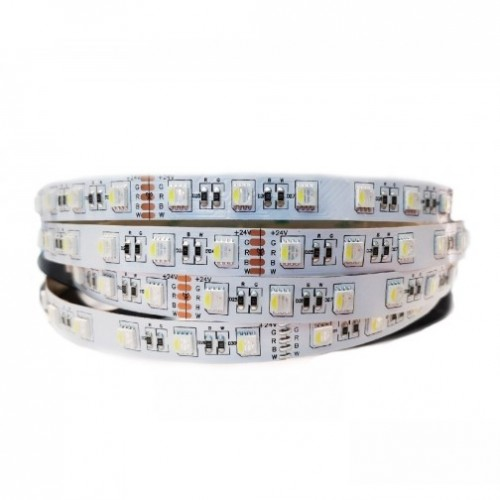 Светодиодная лента Мультицвет (RGB+White) SMD5050 Q60