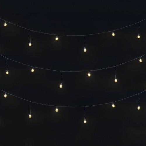"""Влагозащищенная гирлянда """"Ламполайт"""" со светодиодными лампами"""