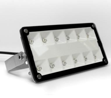 Прожектор квадратный на сверхъярких светодиодах