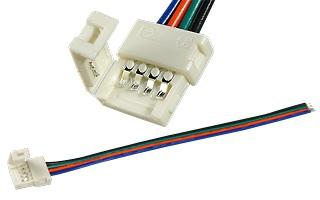 Соединительный кабель с 1 разъемом для светодиодной ленты RGB