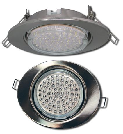 Встраиваемый светильник GX53 FT3238 в форме эллипс