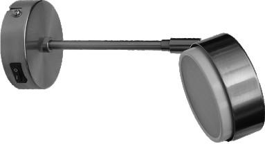 Накладной светильник GX53 на длинном кронштейне