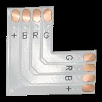 Гибкая соединительная плата L-образная для ленты RGB