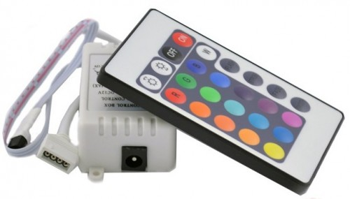 Контроллер для управления светодиодной ленты RGB с инфракрасным ПУ