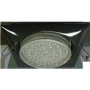 Встраиваемый светильник GX53 квадратный