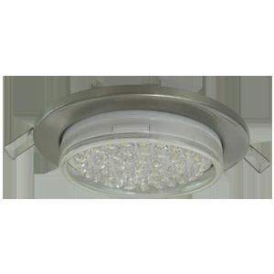 Встраиваемый светильник GX53 H6 плоский