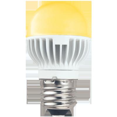 Светодиодная лампа-шар G45 Золотистая 5.4Вт Е27