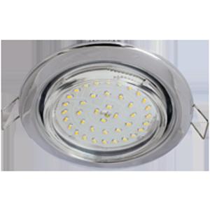Комплект Светильник GX53 Хром с лампой Led 4.2W