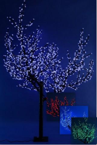 """Светодиодное дерево """"Сакура"""" RGB 2.4м"""