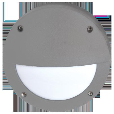Светодиодный влагозащищенный светильник Круг с ресничкой