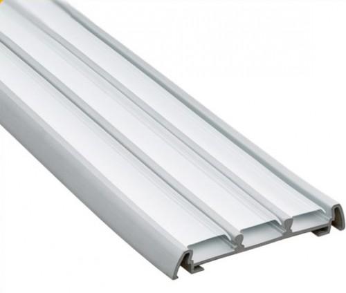Алюминиевый профиль тройной накладной
