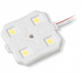 Герметичный светодиодный кластер 4 Led RGB