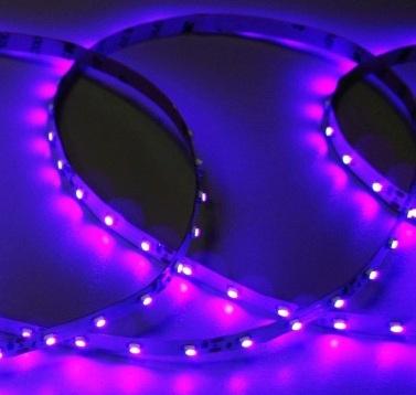 Светодиодная светодиодная лента SMD3528 Q60 Ультрафиолетовая