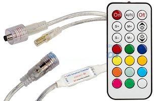 """Контроллер для управления светодиодной ленты RGB """"Бегущий огонь"""" 63 программы"""