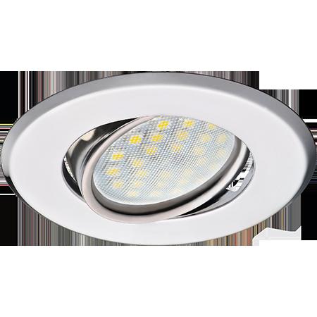 Встраиваемый поворотный светильник MR16 DH09 плоский