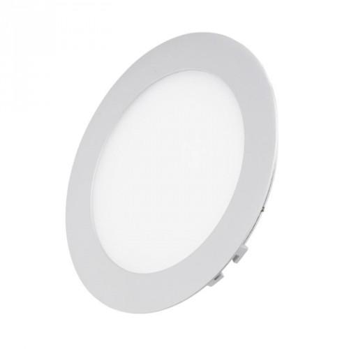 Ультратонкая светодиодная круглая панель 6Вт