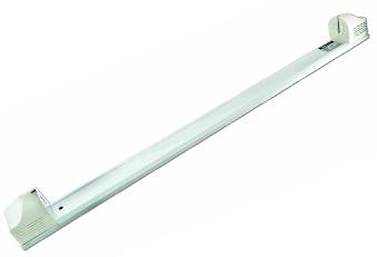 """Светильник """"лыжа"""" под лампу для растений 36Вт Белый (без лампы)"""