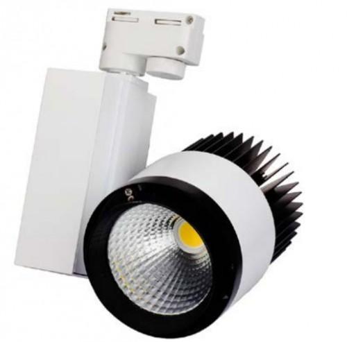 Подвесной светодиодный светильник для треков/шин 40Вт