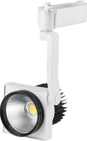 Подвесной светодиодный светильник для треков/шин 30Вт