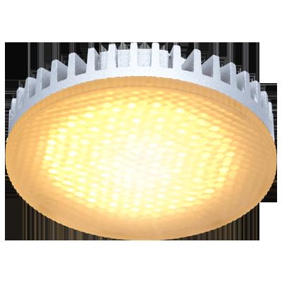 Светодиодная лампа GX53 матовое стекло Золотистая 8.5Вт