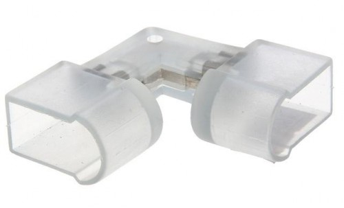 L-образный коннектор для гибкого неона