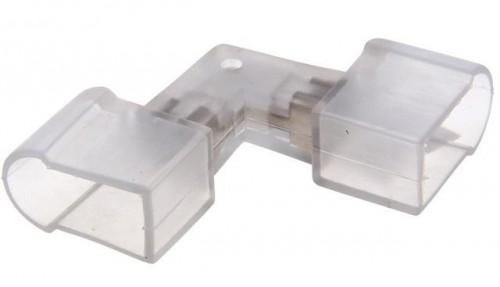 L-образный коннектор для гибкого неона (внешний угол)