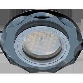 Встраиваемый светильник MR16 DL1653 Круг с вогнутыми гранями