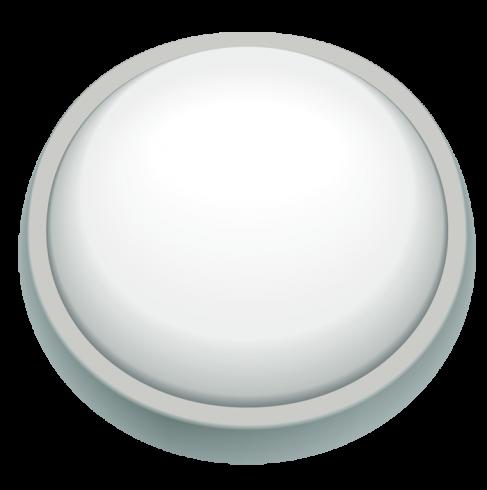 Светодиодный влагозащищенный светильник Круг 15W