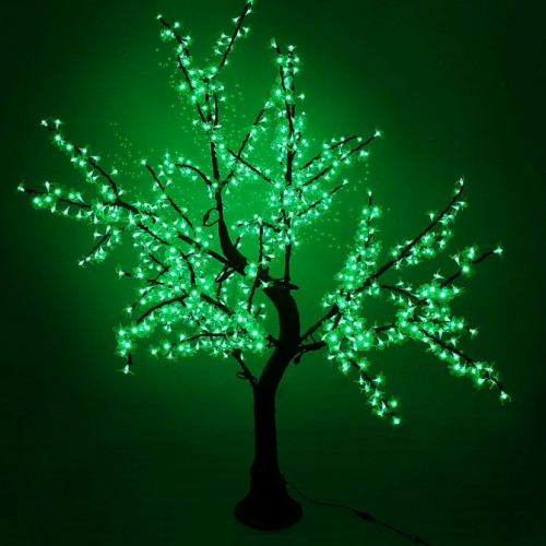 "Светодиодное дерево ""Сакура"" 1.8м Зеленый"