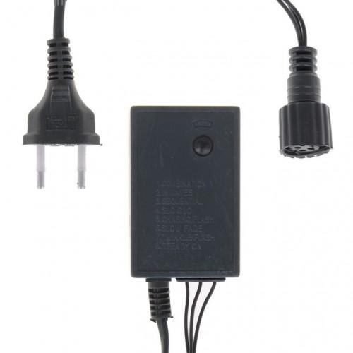 Контроллер уличный для гирлянд 3-х жильный, 8 режимов