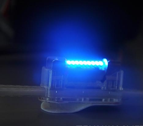 Лампа-фестон Синяя