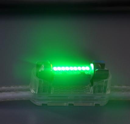 Лампа-фестон Зеленый
