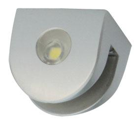 Полкодержатель светодиодный  для стекла 6-8мм