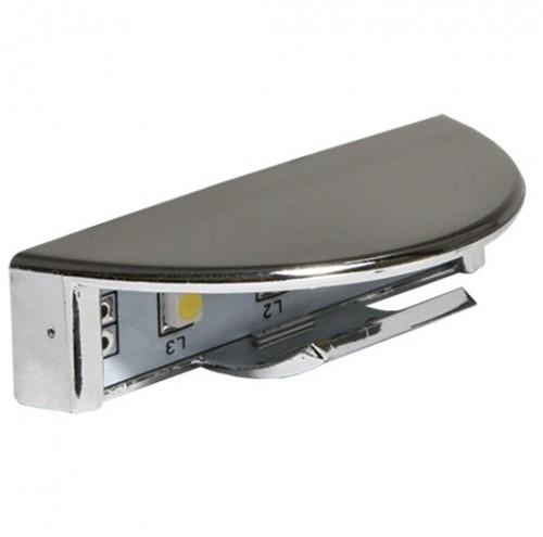Светодиодная клипса-светильник 4,5см для стекла 6-8мм