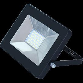 Светодиодный прожектор 20Вт ультратонкий Черный