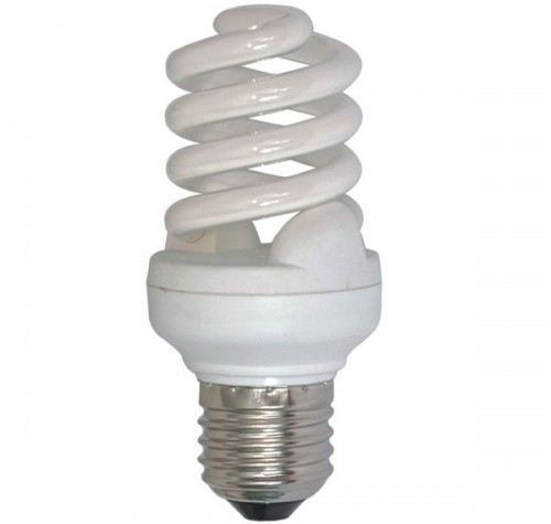 Мощная лампа-спираль Е40 120Вт 6500К (холодный белый)